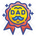 Father Day Medal Best Father Medal Medal Icon