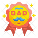 Father Day Medal Icon