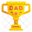 Father Day Trophy Trophy Award Icon
