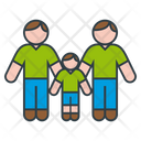 Fathers And Son Icon