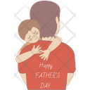 Happy Fathers Day Greetings Father Icon