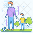 Fathers Day Parenthood Event Celebration Icon
