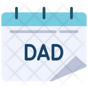 Date Dad Calendar Calendar Icon