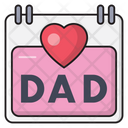 Dad Fatherday Event Icon