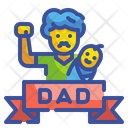 Fathers Day Dad Celebration Icon