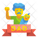 Fathers Day Dad Celebration Icon