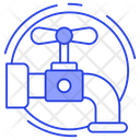 Tap Water Supply Faucet Icon