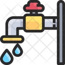 Faucet Water Tape Tape Icon