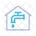 Water Smart Home Technology Icon
