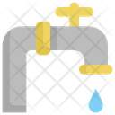 Faucet Pipe Cleaning Icon