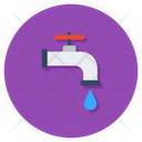 Water Supply Water Tap Water Flow Icon