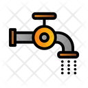 Flush Water Pipe Icon