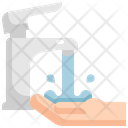 Faucet Water Hand Icon