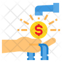Faucet Money Profit Icon