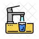 Faucet Water Tap Modern Icon