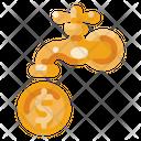 Faucet Money Creative Icon