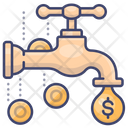 Faucet Money Icon