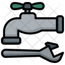 Faucet Repair Pipe Faucet Icon