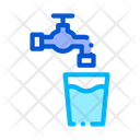Faucet Water Glass Icon