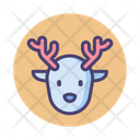 Fauna Deer Buck Icon