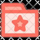 Favorite Folder Data Icon