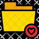 Favorite Heart Folder Icon