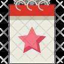 Favorite Day Celebration Icon