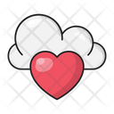 Favorite Like Cloud Icon