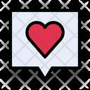Favorite Likes Notification Icon