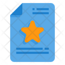 Favorite Star Rating Icon