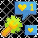 Favorite Like Message Like Icon