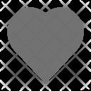 Favorite Heart Shape Icon