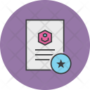Favorite Important Document Icon