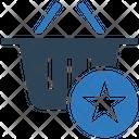 Favorite Basket Basket Shopping Basket Icon