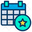 Favorite Calender Planner Icon