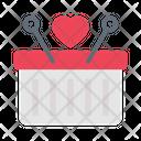 Basket Cart Favorite Icon