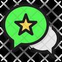 Favorite Chat Favourite Chat Favourite Icon