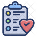 Favorite Checklist Icon