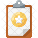 Favorite Clipboard Icon
