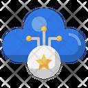 Favorite Cloud Favorite Multimedia Option Icon