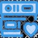 Favorite Favorite Data Database Icon