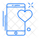 Heart Health Mobile Icon