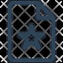 E Commerce Paper Star Icon