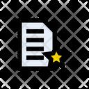 File Favorite Document Icon