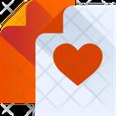 Favorite Document Favorite File Favorite Paper Icon