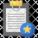 Favorite Document Favorite File Favourite Icon