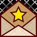 Favorite Mail Envelope Icon