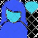 Favorite Female User Icon