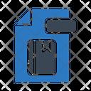 File Bookmark Document Icon