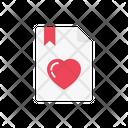 Favorite Bookmark File Icon